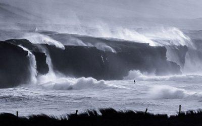 Tempest at Doolin by John Coveney