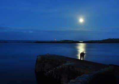 Romantic Moon by Tom Murphy