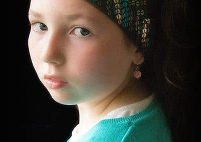 Girl with the Pearl Earring by Olive Gaughan