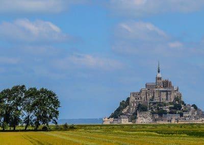Mont Saint Michel by Gavin Ross