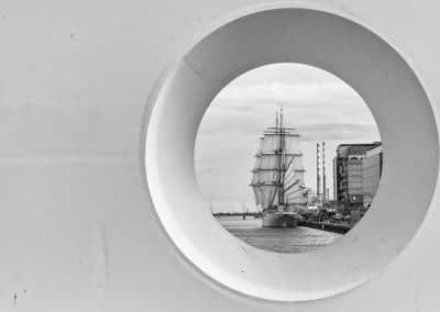Through the porthole by Gavin Ross