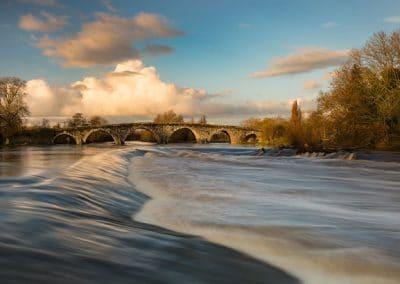 Time passes under Bennett's Bridge by Kevin Grace
