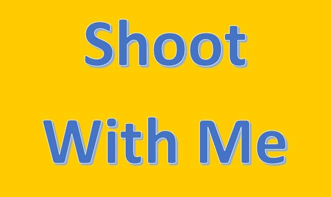Shoot With Me – Autumn 2015 Groups