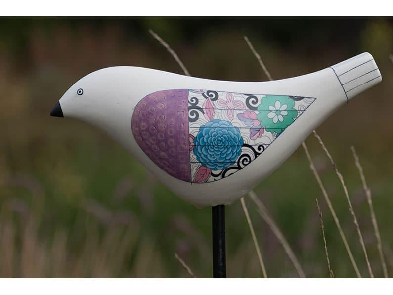 Bird Song (Artist Michele Hannan) by Ken Dobson