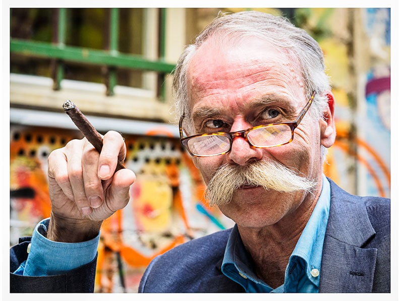 1st - Moustached Gent in Berlin by Barry Dillon