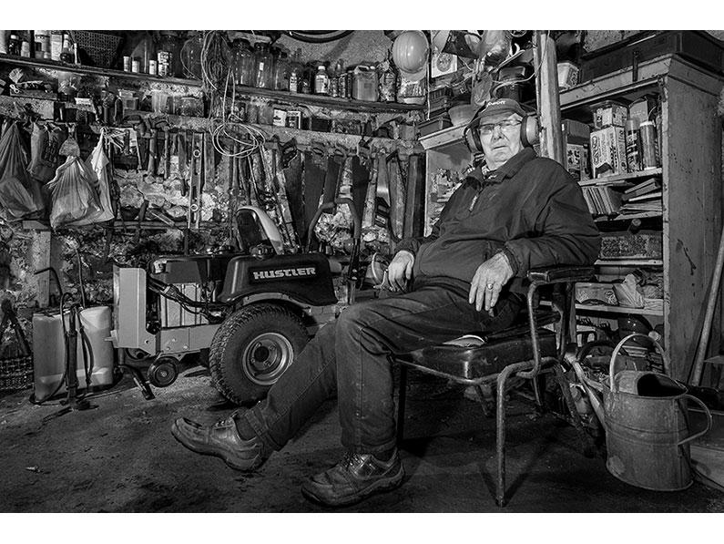 3. John Wiles – Man in Shed