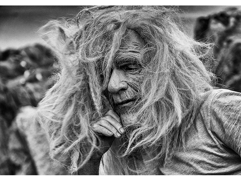 10. Mary Hahn – Portrait of a Man