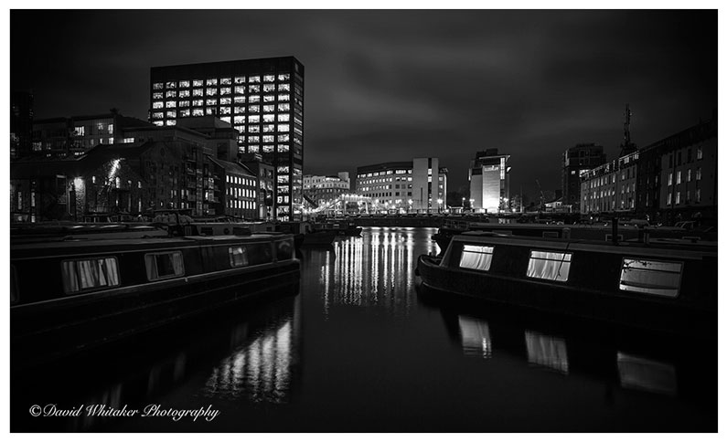 Grand Canal Dock by David Whitaker