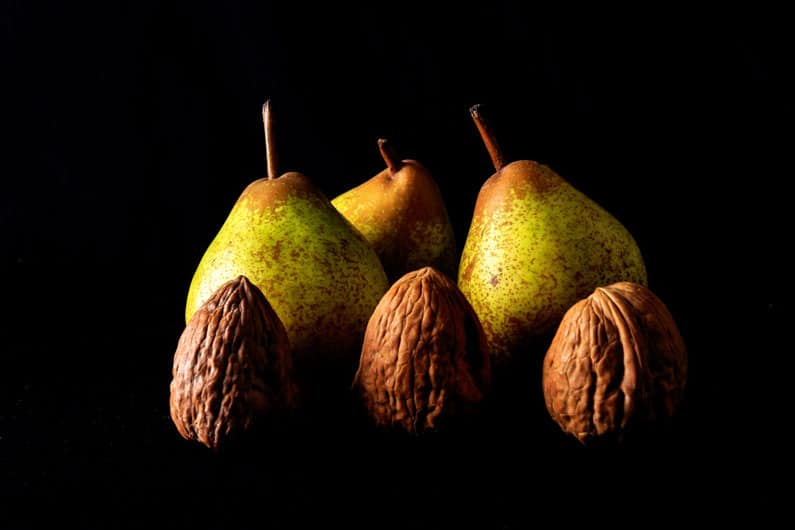 Walnuts and Pears by John Coveney