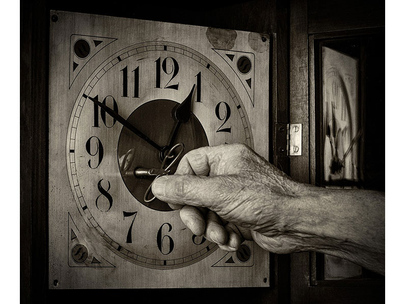 Highly Commended - Hands of Time by Mary Hann