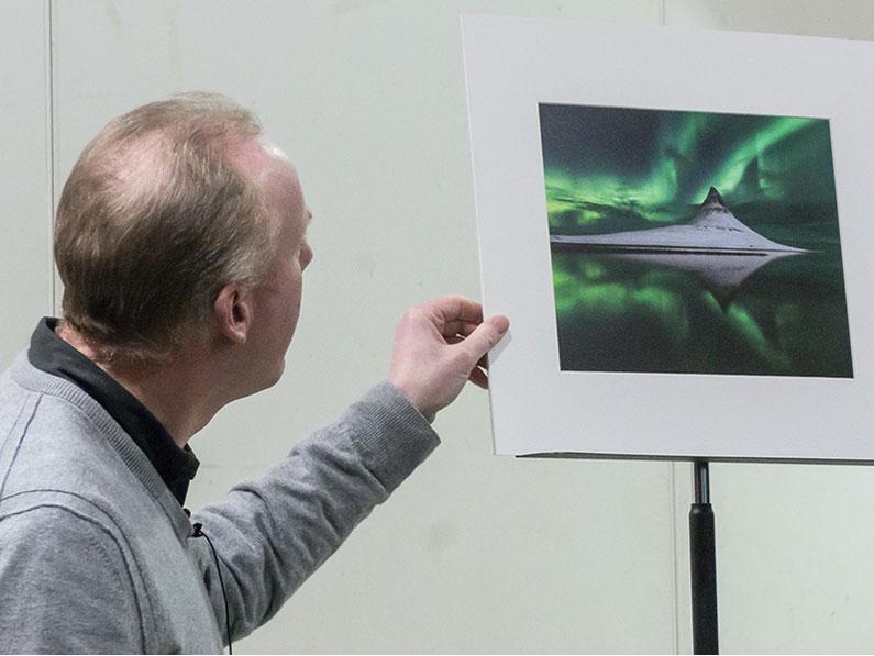 Dermot Showing Janet's winning L2 image