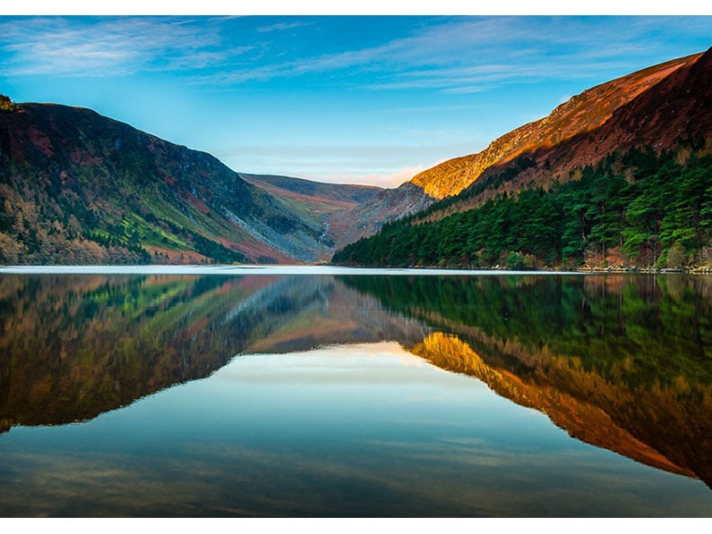 Glendalough Reflection by George Balmer