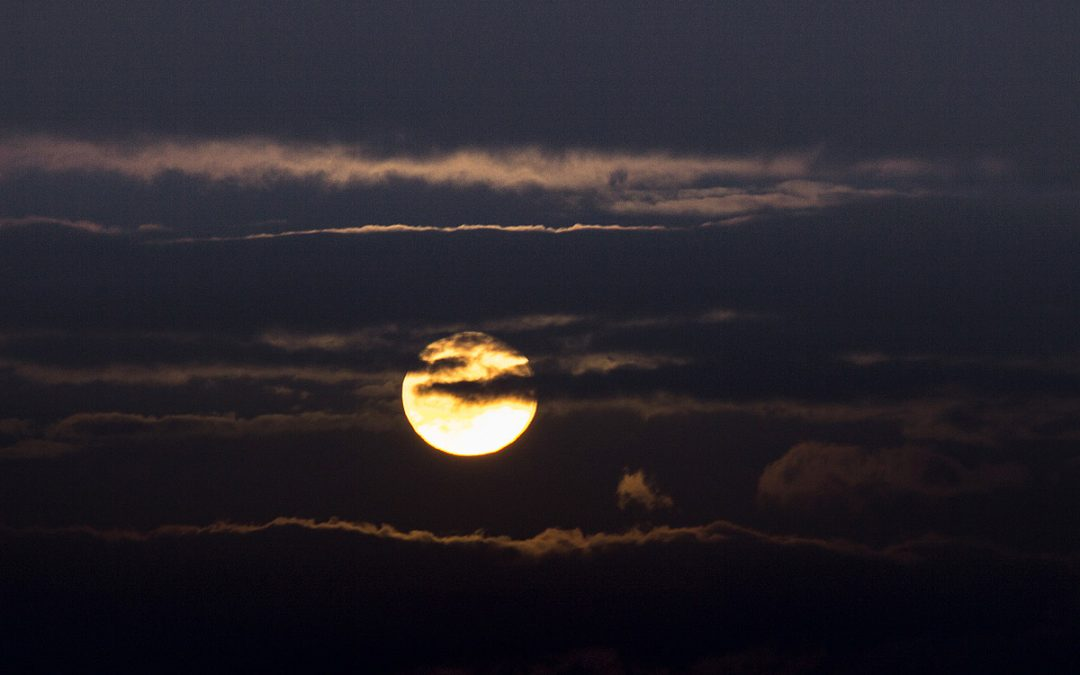 Club Outing – Harvest Moon over Scotsman's Bay