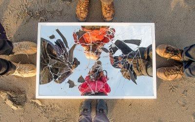 SWM December 2017 – Fractured Mirror Portraits